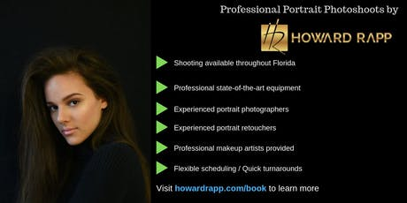 Boca Raton Models - Model in Professional Photoshoots THIS WEEKEND tickets