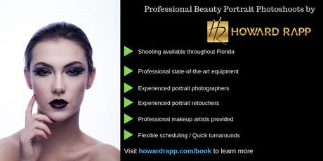 Calling Key West Models - Beauty Portrait Photoshoots tickets