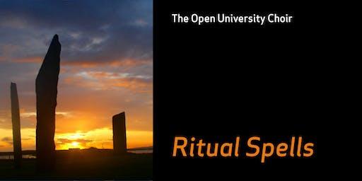 OU Choir concert: John Byron 'Ritual Spells'; Joseph Haydn Te Deum