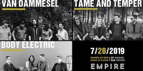 Tame & Temper @ Empire Live Music & Events tickets