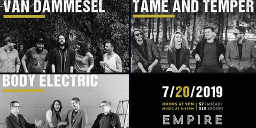 Tame & Temper @ Empire Live Music & Events