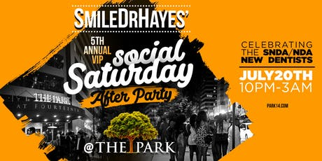 SmileDrHayes' Social Saturday After Party! tickets