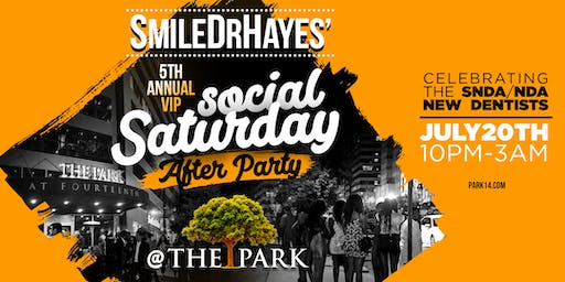 SmileDrHayes' Social Saturday After Party!