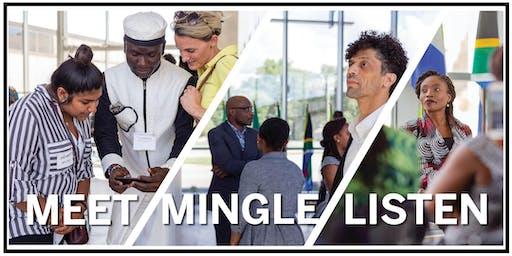 Meet, Mingle, Listen: An Evening with the IU Mandela Washington Fellows
