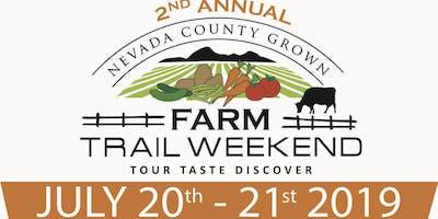 2019  Farm Trail Weekend (Nevada County, California)