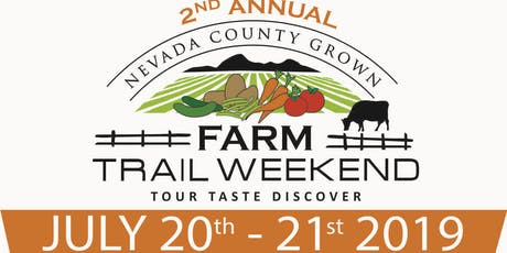 2019  Farm Trail Weekend (Nevada County, California) tickets