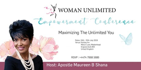 Woman Unlimited Conference tickets