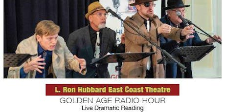 """GOLDEN AGE RADIO HOUR - """"Murder Afloat"""" - Live Dramatic Reading tickets"""