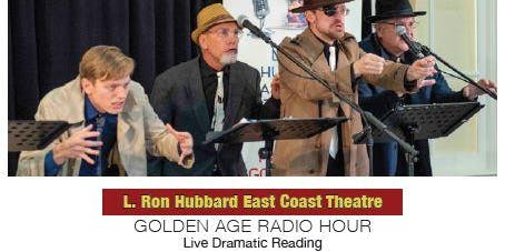 "GOLDEN AGE RADIO HOUR - ""Murder Afloat"" - Live Dramatic Reading"