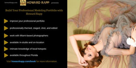 Build Your Professional Modeling Portfolio in Coral Gables tickets