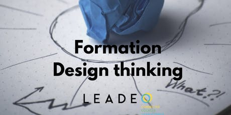 Formation Design Thinking : fondements et outils tickets