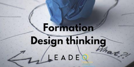 Formation Design Thinking : fondements et outils billets