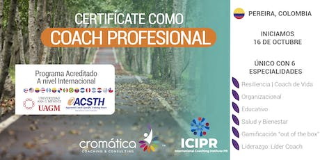 Certificación Coaching Profesional  tickets