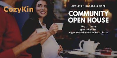 CozyKin Boston Community Open House @ Appleton Bakery & Cafe