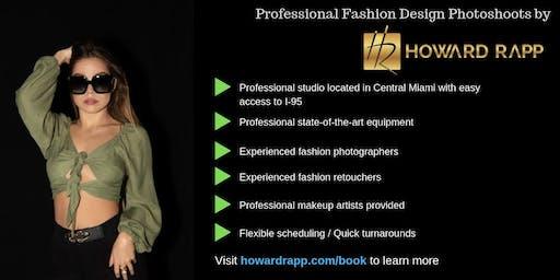 Professional Fashion Design Photoshoots in Miami