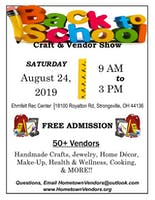 Back to School Craft & Vendor Show