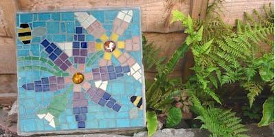 Mosaic Stepping Stone Art Class (deposit booking)