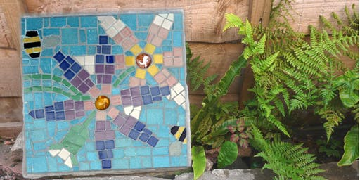 Mosaic Stepping Stone Art Class (deposit booking)