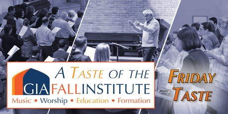 Friday Taste of GIA Fall Institute tickets