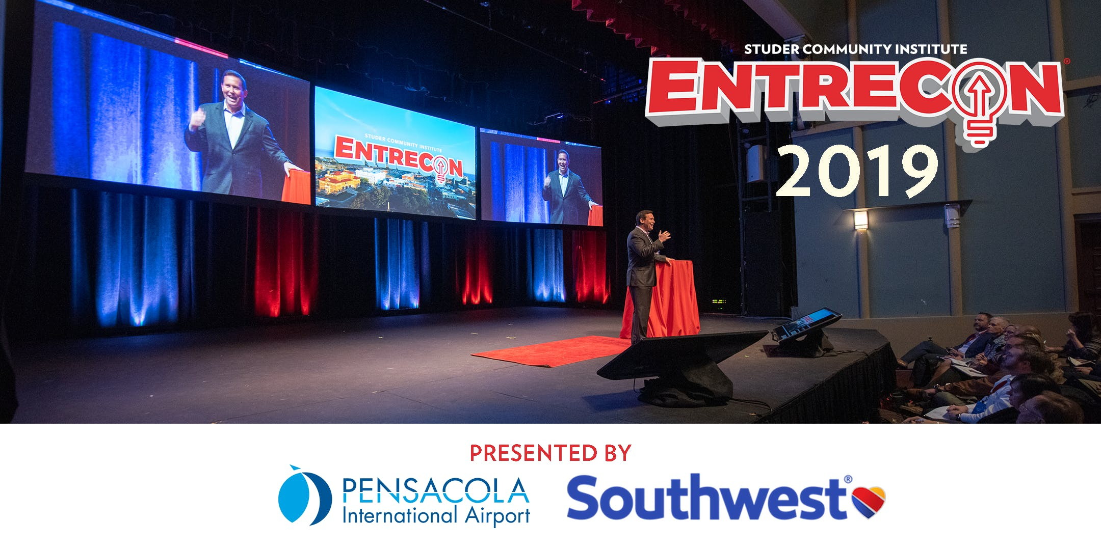 EntreCon 2019 sponsored by Pensacola Airport and Southwest Airlines