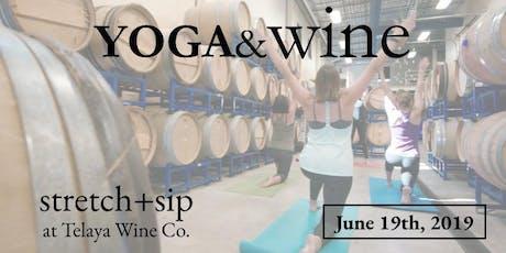 Yoga&Wine tickets