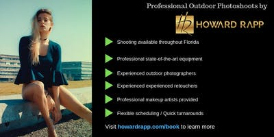 Professional Outdoor Photoshoots in Boca Raton