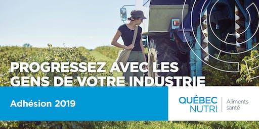 Adhésion - Québec NUTRI (Aliments santé)