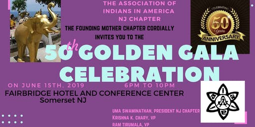 Association of Indians in America 50 Year Gala Celebration