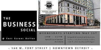 The Business Social @FortStreetGalley