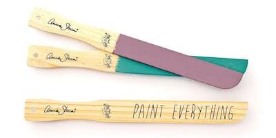 Annie Sloan Chalk Paint 101 Workshop- NRH