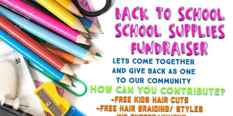 BACK 2 SCHOOL FREE COMMUNITY EVENT tickets