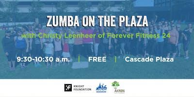 Zumba on the Plaza