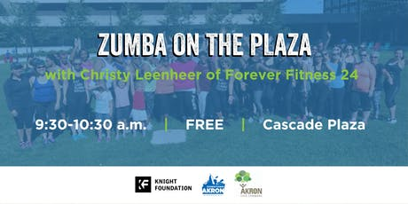 Zumba on the Plaza tickets