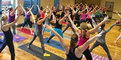 Yoga & Brunch at Pinstripes South Barrington