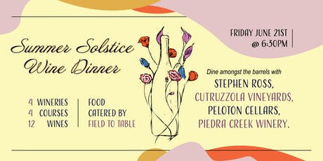 Summer Solstice Wine Dinner tickets