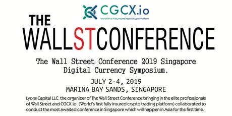 The Wall Street Conference 2019 Singapore Digital Currency Symposium tickets
