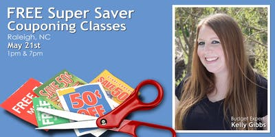 FREE Super Saver Couponing Workshops - Raleigh - May 21st