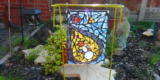Garden Mosaic Sun Catcher Workshop (deposit booking)