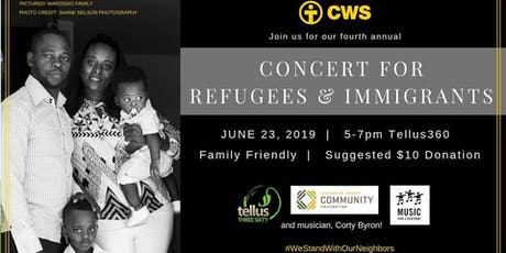 4th Annual Concert for Refugees and Immigrants tickets