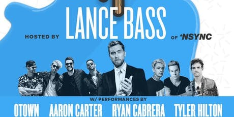 VIP Experience with Lance Bass - Flint, MI tickets