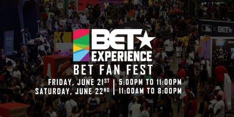 2019 BET Experience Fan Fest tickets