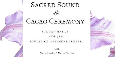 Spring  Sacred Sound & Cacao Ceremony