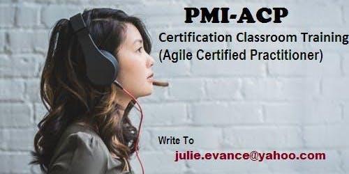PMI-ACP Classroom Certification Training Course in Escanaba, MI