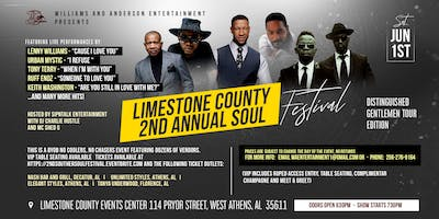Limestone County 2nd Annual Soul Festival - Distinguished Gentlemen Tour Edition