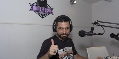 Taller de radio con Fede Benitez entradas