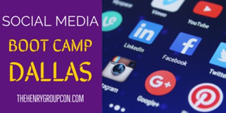 Social Media Boot Camp - Dallas  tickets