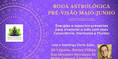 Astrologia:Previsões Maio/Junho para Consciência e Fluidez Pessoal (Vidhya)