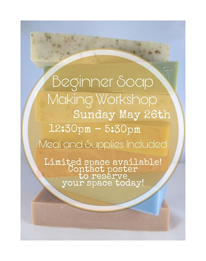 Beginner Soap Making Workshop image