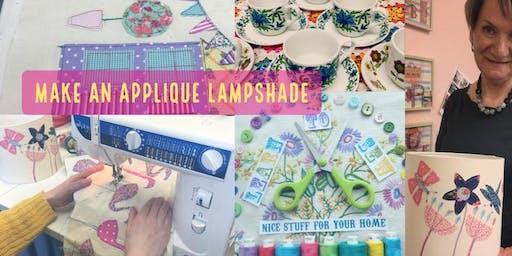 Make an Applique Lampshade