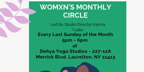 Womxn's Monthly Circle  tickets